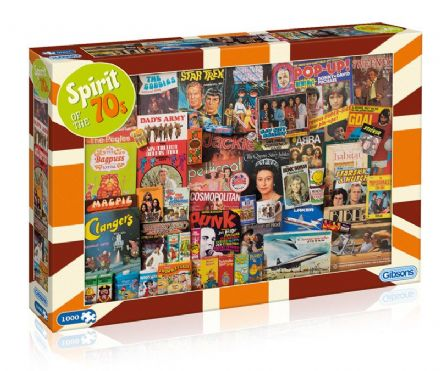 Spirit of the 1970's Jigsaw - 1000pc Jigsaw Puzzle